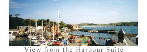 View of Padstow Harbour from Room One
